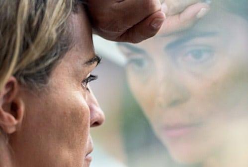 donna matura depressione