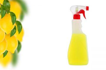 Sgrassatore al limone fai da te