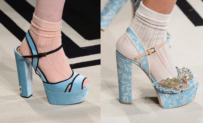 Franchi sandali inverno 2018 tacco