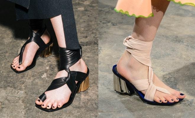 Proenza Schouler sandali inverno 2017