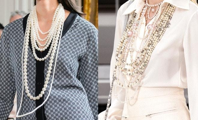 collane perle moda inverno 2017-2018