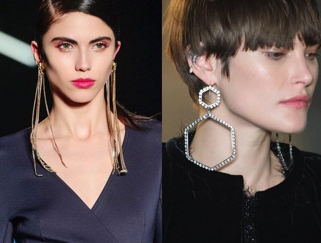 orecchini moda inverno 2017-2018