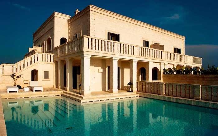 villa-piscina Borgo Egnazia Puglia