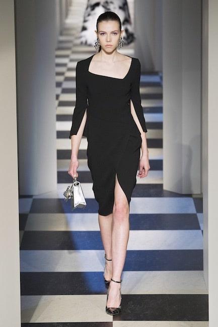 56db95bdd6 Inverno, i 25 migliori abiti eleganti lunghi e corti tutti neri ...
