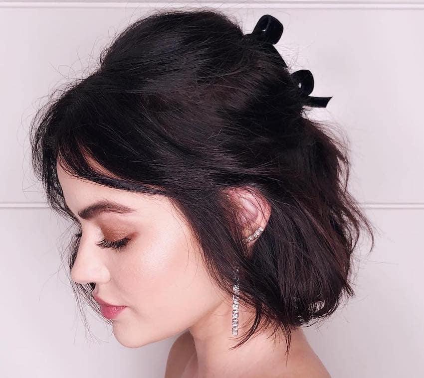 acconciature capelli corti fini 2019