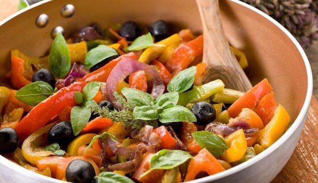 ricetta peperonata leggera