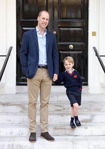 principe-george-primo giorno di scuola