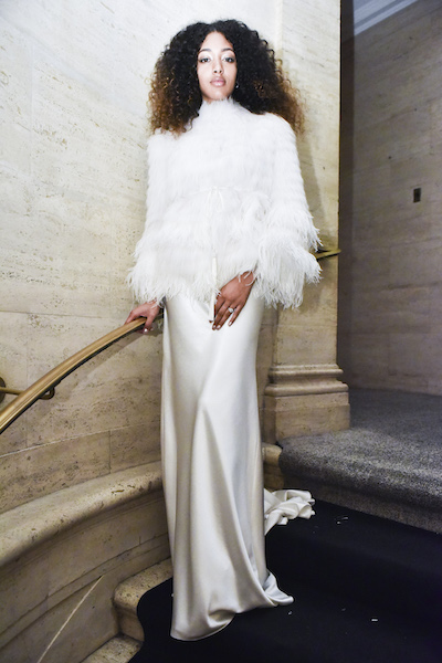Monique Lhuillier abito sposa invernale