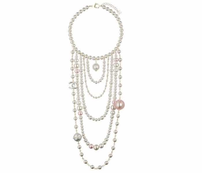 collana chanel perle multifilo inverno 2018