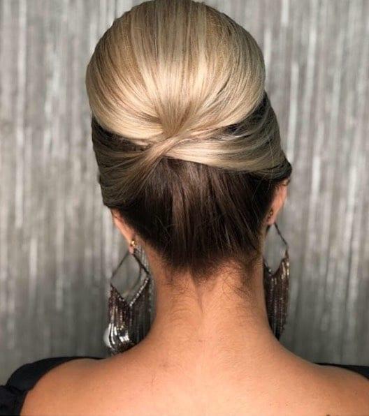 cignon sposa 2018 capelli bicolore