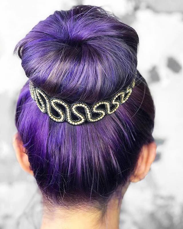 cignon-sposa-capelli-colorati-coroncina