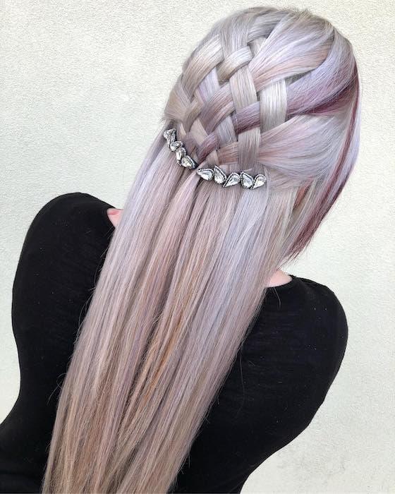 sposa 2018 acconciature capelli lunghi