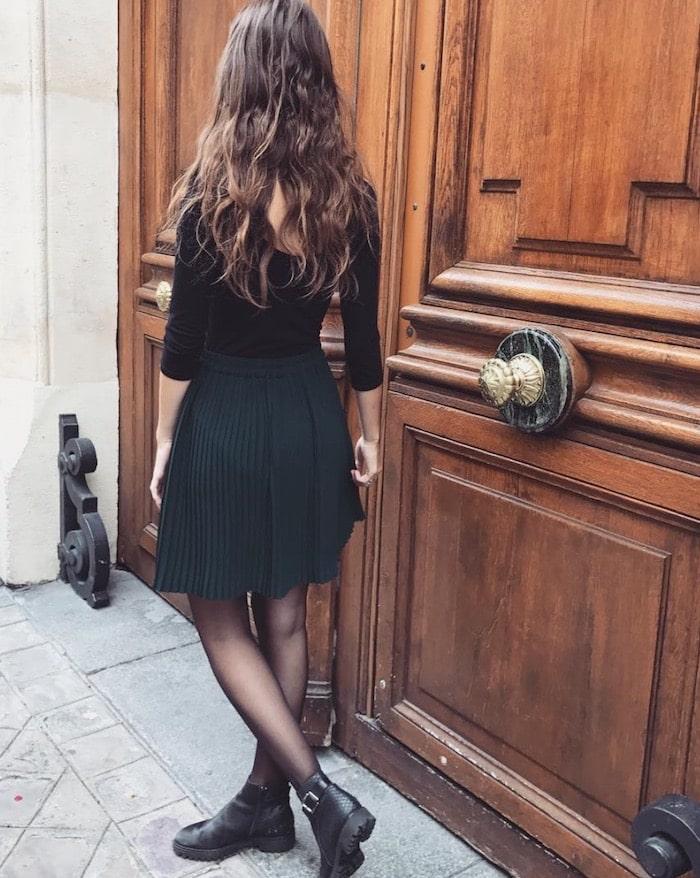 stile da parigina gonne