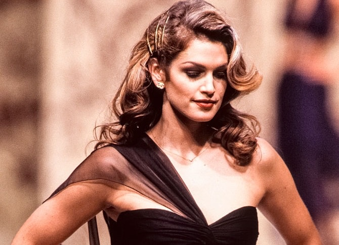 Cindy Crawford sfilata 1991