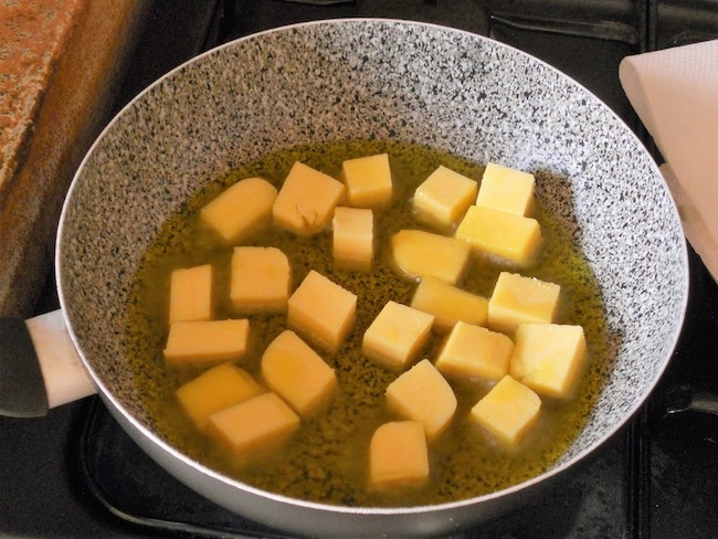 Polenta e merluzzo alla paprika ricetta