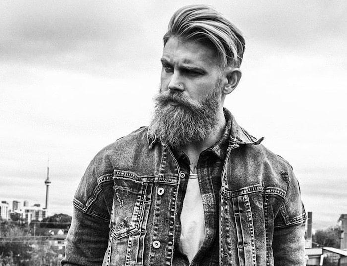 taglio capelli uomo e barba moda 2018