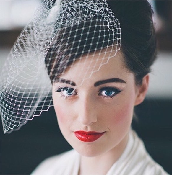 trucco sposa vintage instagram