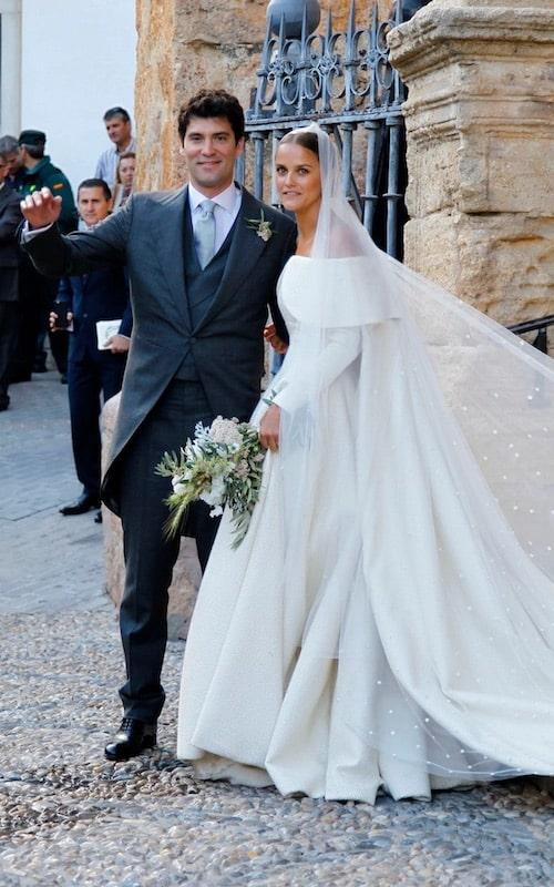 Lady Charlotte Wellesley abito da sposa