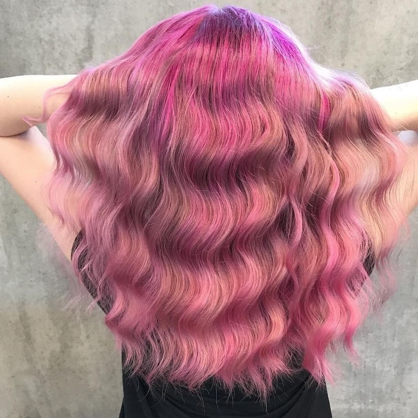 capelli lunghi colorati estate 2018