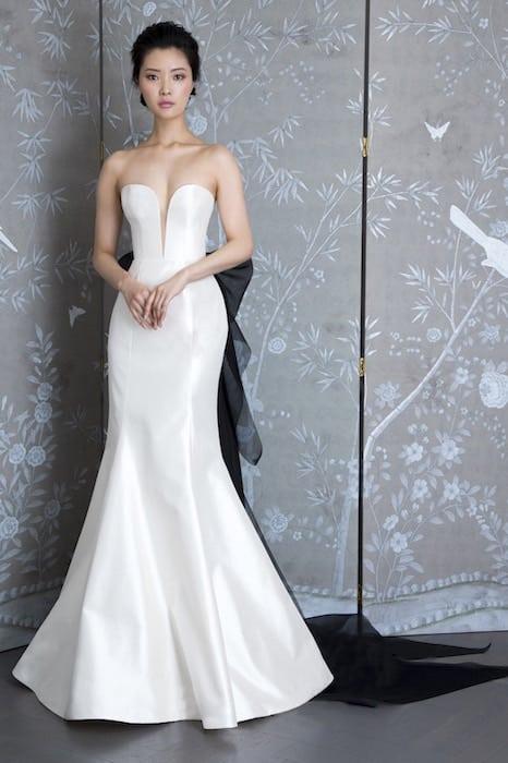 Legends Romona kezeeva abito sposa 2019-bianco nero