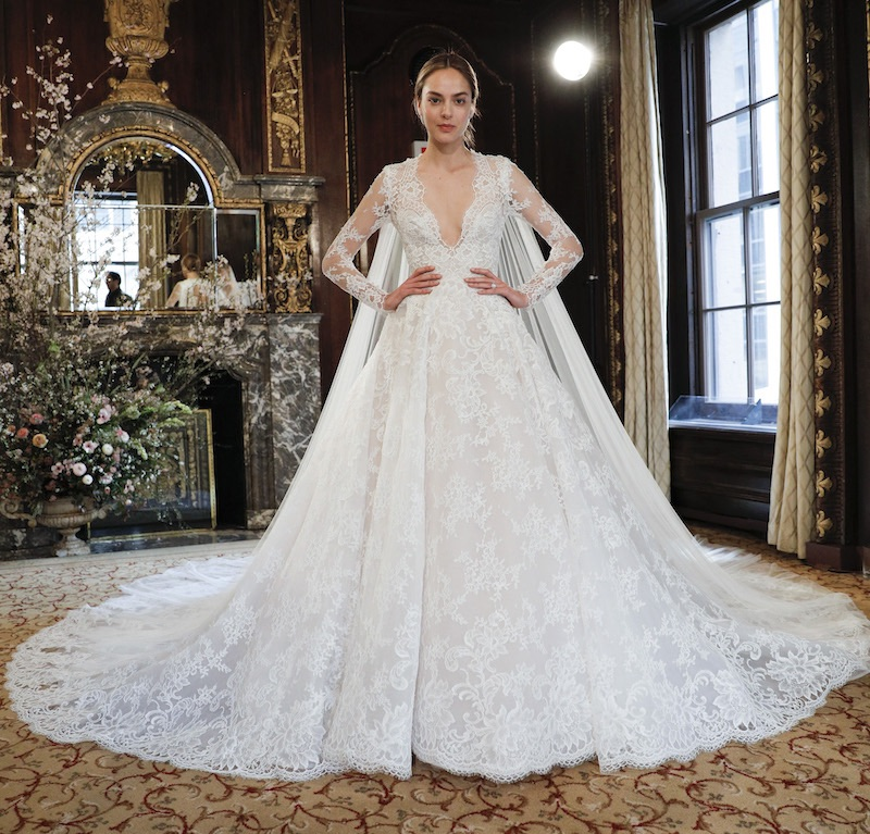 Monique Lhuililer sposa 2019