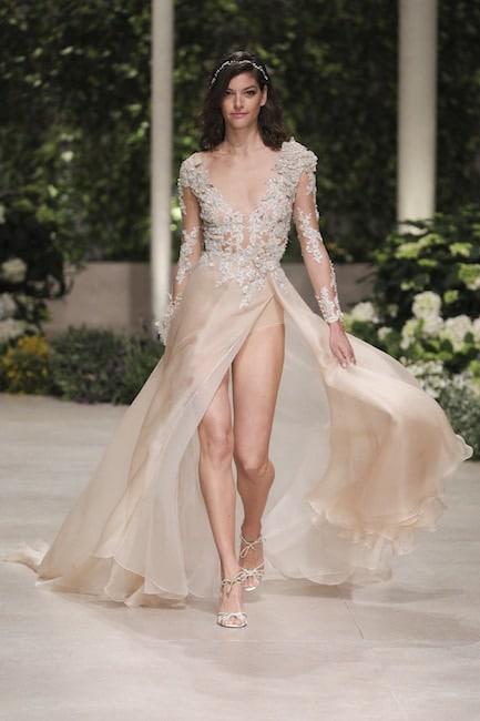 pronovias abito sposa colorato 2019