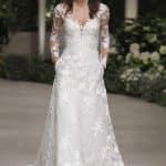 Pronovias abito da sposa con maniche lunghe