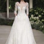 abito con maniche lunghe pronovias sposa 2019