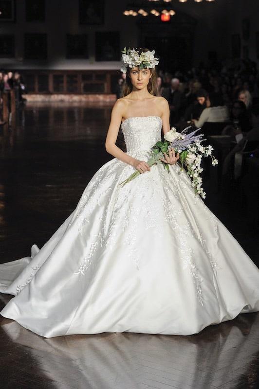Reem Acra abito sposa estate 2019
