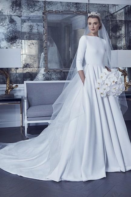 Romona Keveza Abito sposa 2019