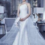 Romona Keveza abito da sposa ispirato a Villa Deste