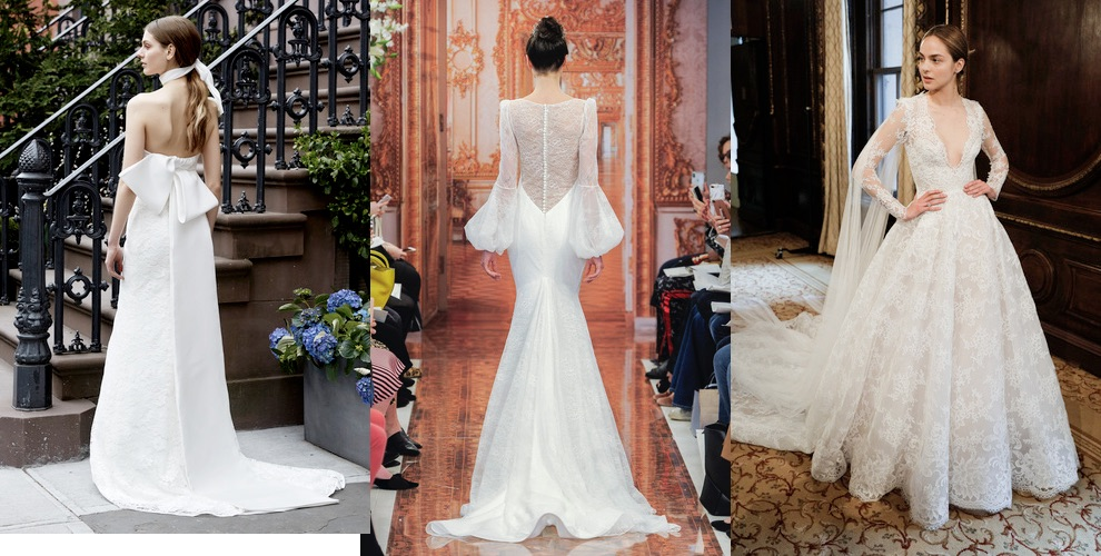 abiti da sposa estate 2019 New York