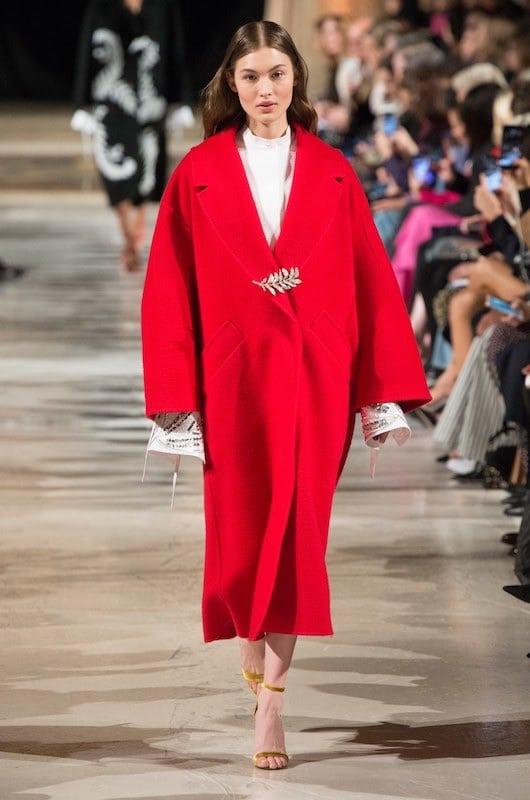 cappotto dona inverno 2019 rosso