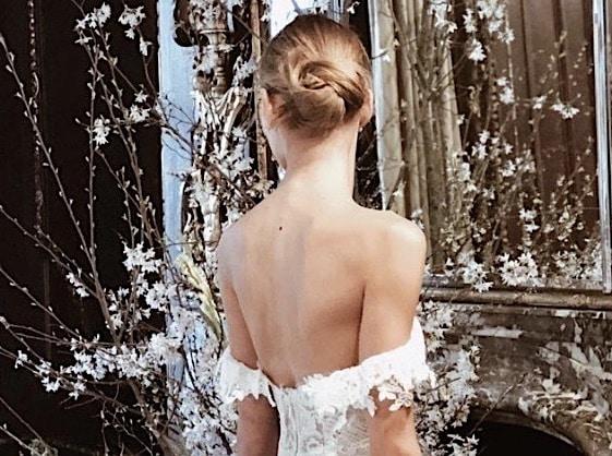 chignon sposa 2019