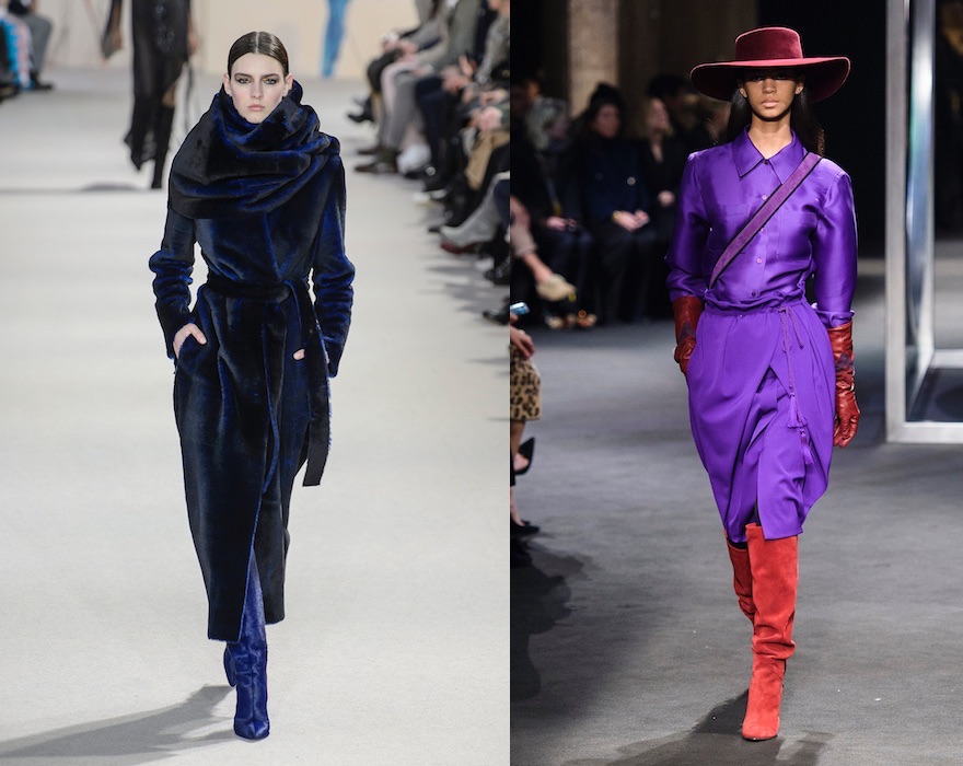 colori abbinamenti moda donna inverno 2018-2019