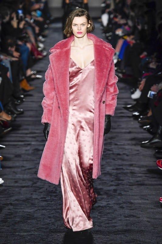 max mara abito pelliccia inverno 2019