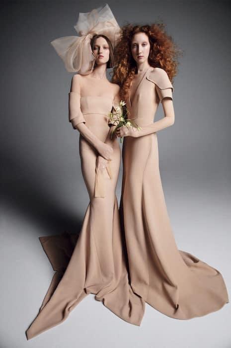 vera Wang sposa 2019-abiti colorati