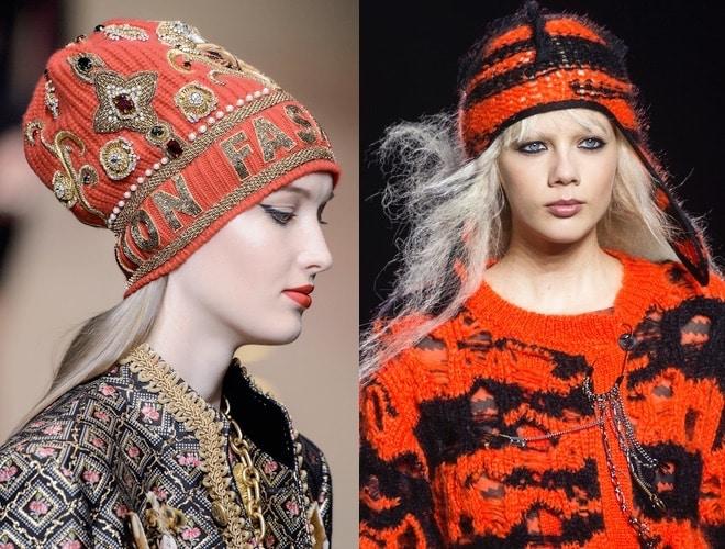 cappelli donna lana moda inverno 2018 , 2019