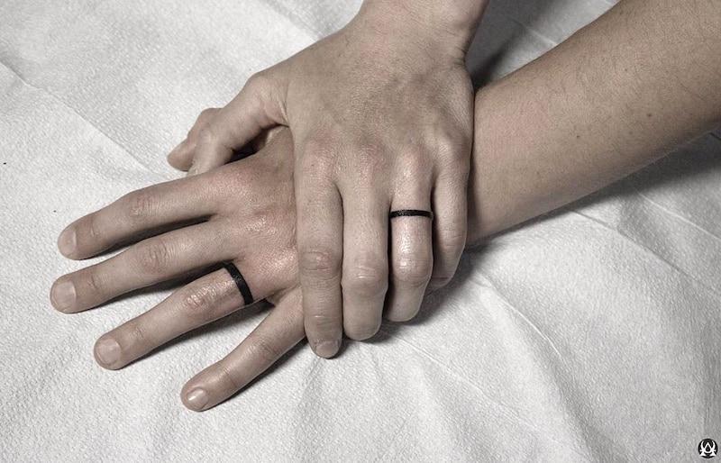 fedi tatto matrimonio
