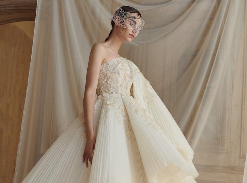 e7119820d72609 Abiti sposa Alta Moda 2018 - 2019. 28 vestiti che fanno sognare - Donne Sul  Web