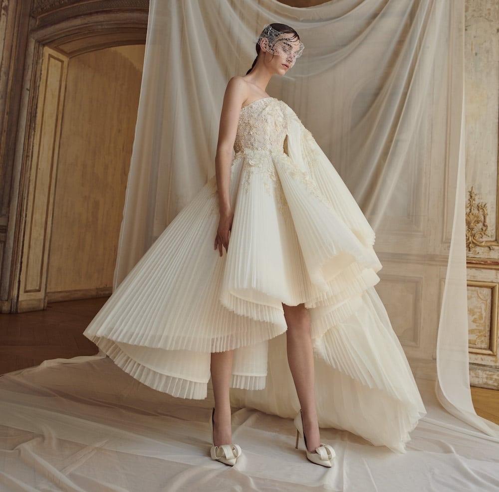 b3976e37851e Abiti sposa Alta Moda 2018 - 2019. 28 vestiti che fanno sognare ...