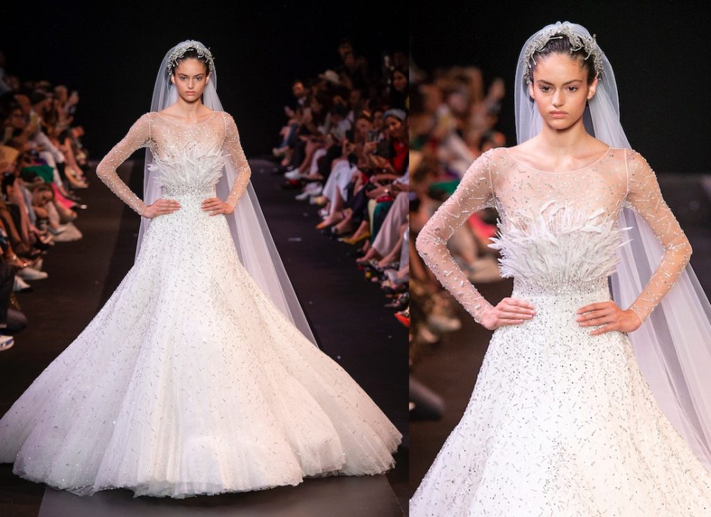 Georges Hobeika sposa autunno inverno 2018 -2019