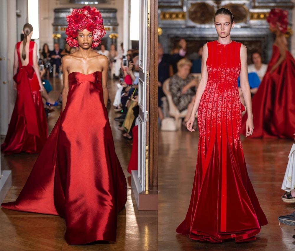Valentino alta moda inverno 2018-2019