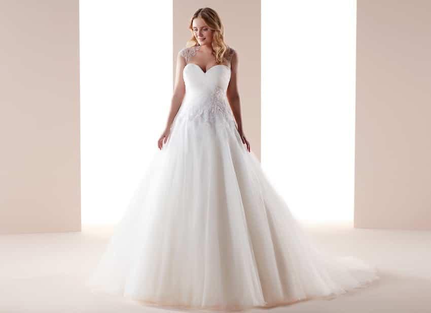abiti da sposa nicole curvy 2019