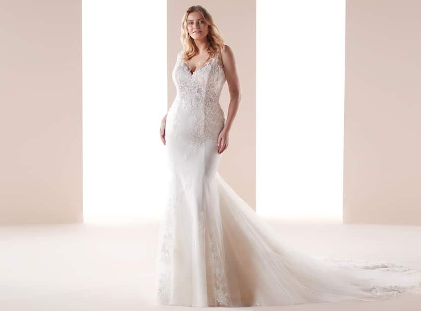 abiti da sposa taglie forti nicole 2019