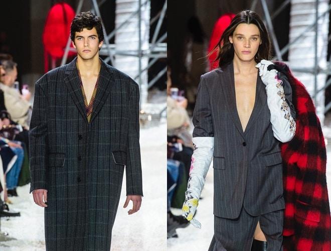 calvin Klein autunno inverno 2018-2019-collezione