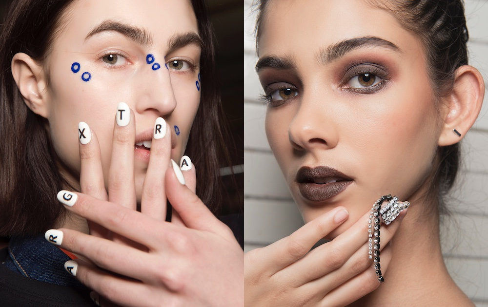 unghie nail art inverno 2018-2019