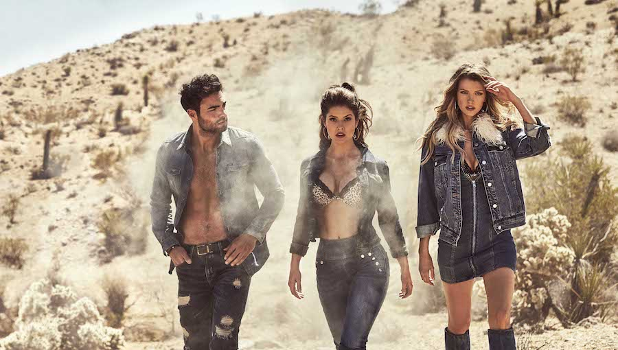 GUESS JEANS autunno inverno 2018-2019