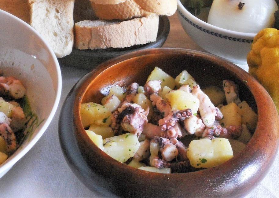 Ricetta insalata polpo e patate