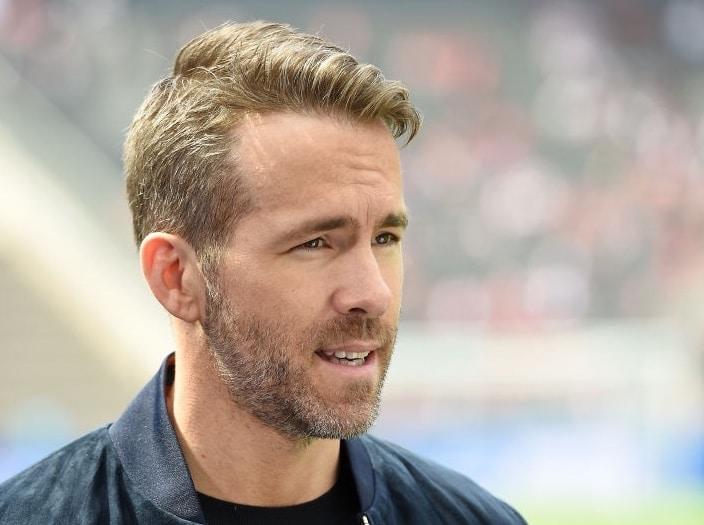 Ryan Reynolds taglio capelli